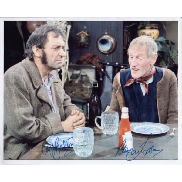 Steptoe & Son Galton Simpson genuine signed authentic signature photo UACC AFTAL