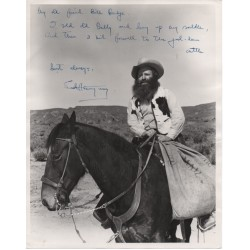 Ernest Hemingway signed photo Authentic genuine signature