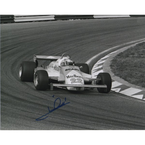 Mario Andretti F1 Indy authentic genuine signed image COA UACC AFTAL