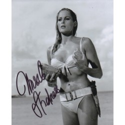 Ursula Andress authentic genuine signed image COA UACC AFTAL RACC