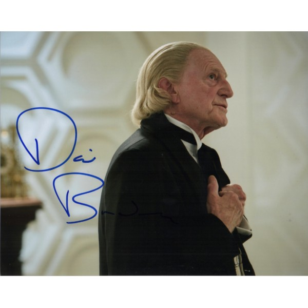 David Bradley Dr Doctor Who authentic genuine signed image COA UACC