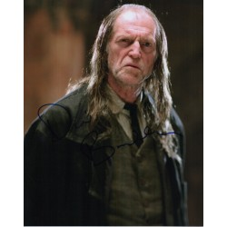 David Bradley Harry Potter Argus Filch authentic genuine signed image COA