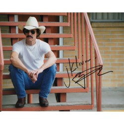 Matthew McConaughey Dallas Buyers authentic genuine signed image COA UACC