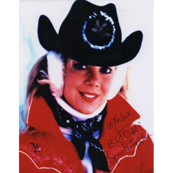 Lynn Holly Johnson James Bond genuine signed autograph photo