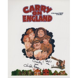 Linda Regan Hi-di-hi  Carry On signed authentic autograph photo 2