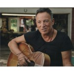 Bruce Springsteen music genuine signed authentic signature photo COA