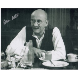 Warren Mitchell Alf Garnet genuine signed authentic signature photo COA