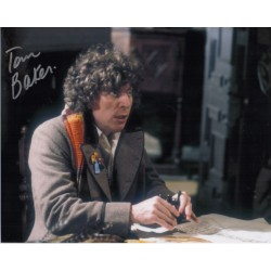 Tom Baker Doctor Who genuine authentic autograph signed photo 6
