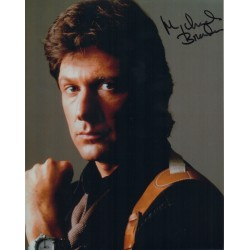 Michael Brandon Dempsey Makepeace signed genuine authentic signed photo