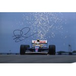 Nigel Mansell Williams F1 signed authentic autograph photo 2