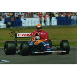Nigel Mansell Taxi for Senna genuine authentic autograph signed photo AFTAL
