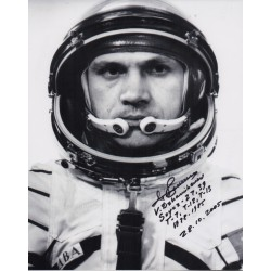 Cosmonaut Vladimir Dzhanibekov space genuine signed autograph photo