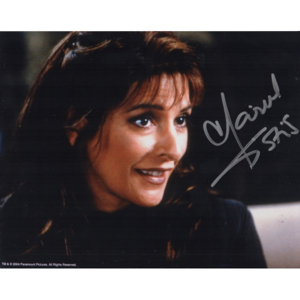 Star Trek Marina Sirtis signed original genuine autograph authentic photo 3