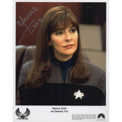 Marina Sirtis Star Trek genuine authentic autograph signed photo 5