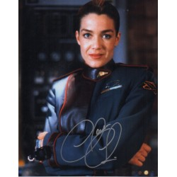 Claudia Christian Babylon 5 genuine authentic autograph signed photo