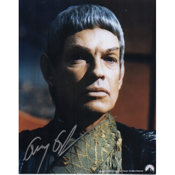 Gary Graham Star Trek genuine signed authentic signature photo