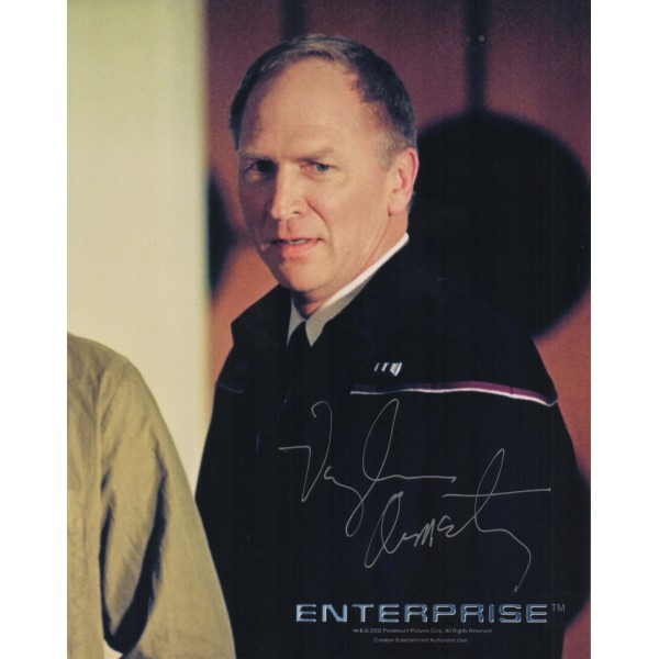 Vaughn Armstrong Star Trek genuine signed autograph photo