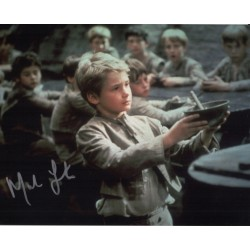Mark Lester Oliver genuine signed authentic signature photo COA