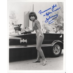 Francine York Batman genuine signed authentic signature photo