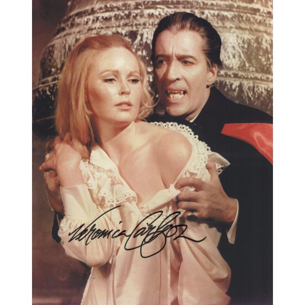 Veronica Carlson authentic genuine signed autograph image COA