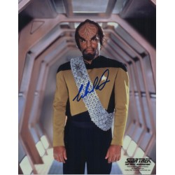 Star Trek Michael Dorn signed original genuine autograph authentic photo