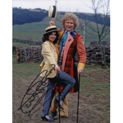 Colin Baker Doctor Who signed original genuine autograph authentic photo