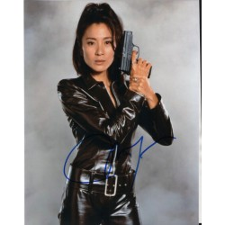 James Bond Michelle Yeoh genuine signed genuine authentic photo