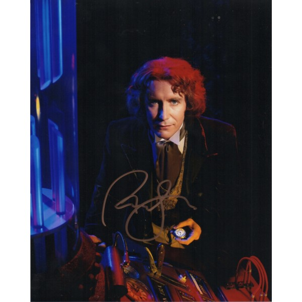 Paul McGann Doctor Who authentic genuine signed autograph photo 3