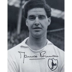 Maurice Norman Spurs Tottenham signed authentic genuine signature photo