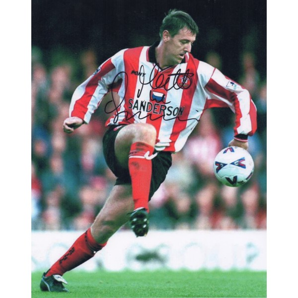 Matt Le Tissier Southampton football signed autograph photo.