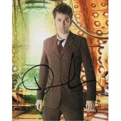David Tennant Doctor Who authentic signed genuine signature photo
