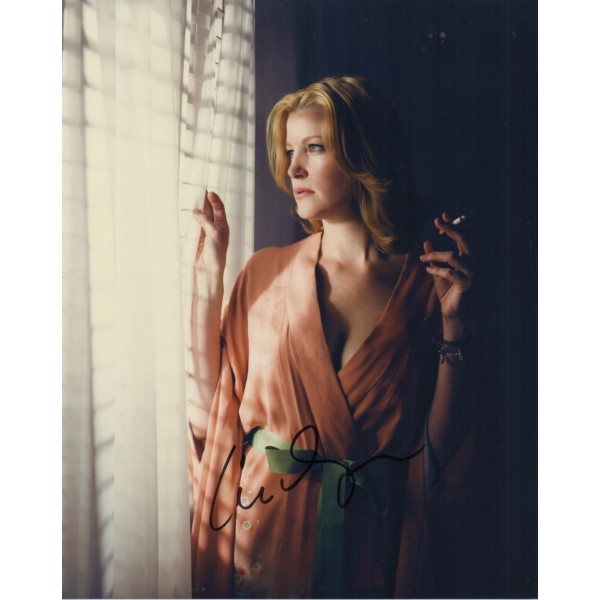 Anna Gunn Breaking Bad genuine signed autograph photo COA UACC