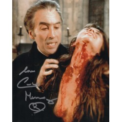 Caroline Munro Hammer Horror signed authentic autograph photo