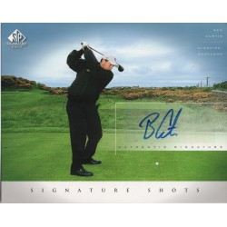 Ben Curtis golf Upper Deck signed authentic genuine signature image