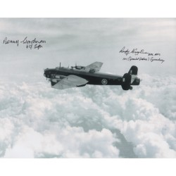 Benny Goodman Rusty Waughman Lancaster genuine signed photo