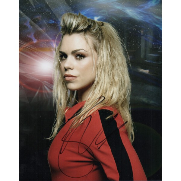 Billie Piper Doctor Who genuine signed authentic signature photo UACC