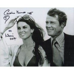 Caroline Munro James Bond Naomi genuine signed autograph photo
