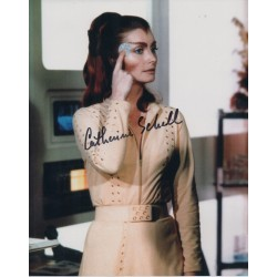 Catherine Schell genuine signed authentic genuine signature COA UACC AFTAL