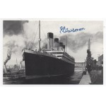 EE Haisman Titanic Survivor genuine authentic signed autograph postcard