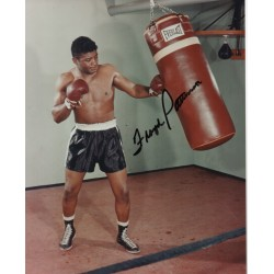 Floyd Patterson Boxing genuine authentic autograph signed photo.