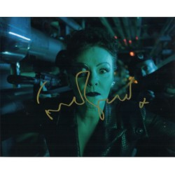 Frances Barber Doctor Who authentic genuine signed autograph image.