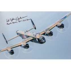 George Johnny Johnson Dam Busters genuine autograph signed photo