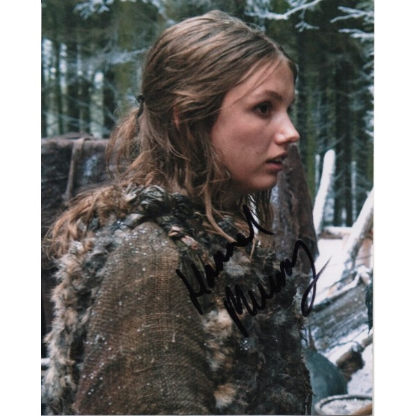 Hannah Murray Game of Thrones authentic signed autograph photo COA
