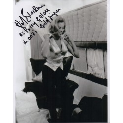 Honor Blackman James Bond genuine authentic autograph signed photo 3