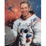 James Jim Lovell Apollo 13 authentic  signed autograph photo