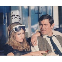 Joanna Lumley James Bond genuine signed authentic signature photo