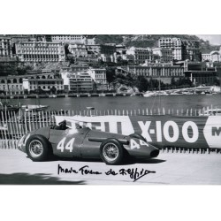 Maria Teresa de Filippis F1 authentic genuine signed autograph photo COA