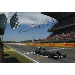 Nico Rosberg Mercedes F1 genuine signed authentic photo AFTAL