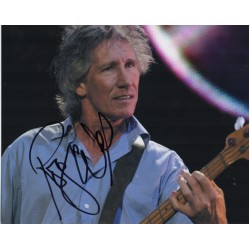 Roger Waters Pink Floyd authentic genuine signed autograph photo 3