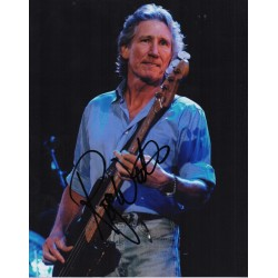 Roger Waters Pink Floyd genuine authentic autograph signed photo.